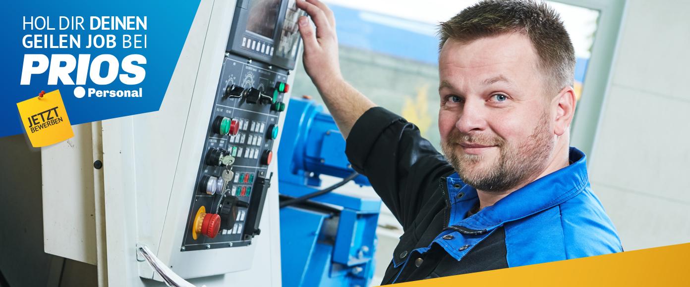Header für CNC-Drehmaschinenbediener (m/w/d) in 3-Schicht